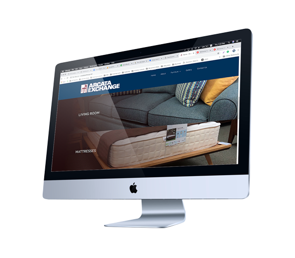 Furniture Store Web Design - Arcata, CA