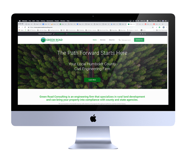 Web Design for Non-Profit Organization in Eureka, California
